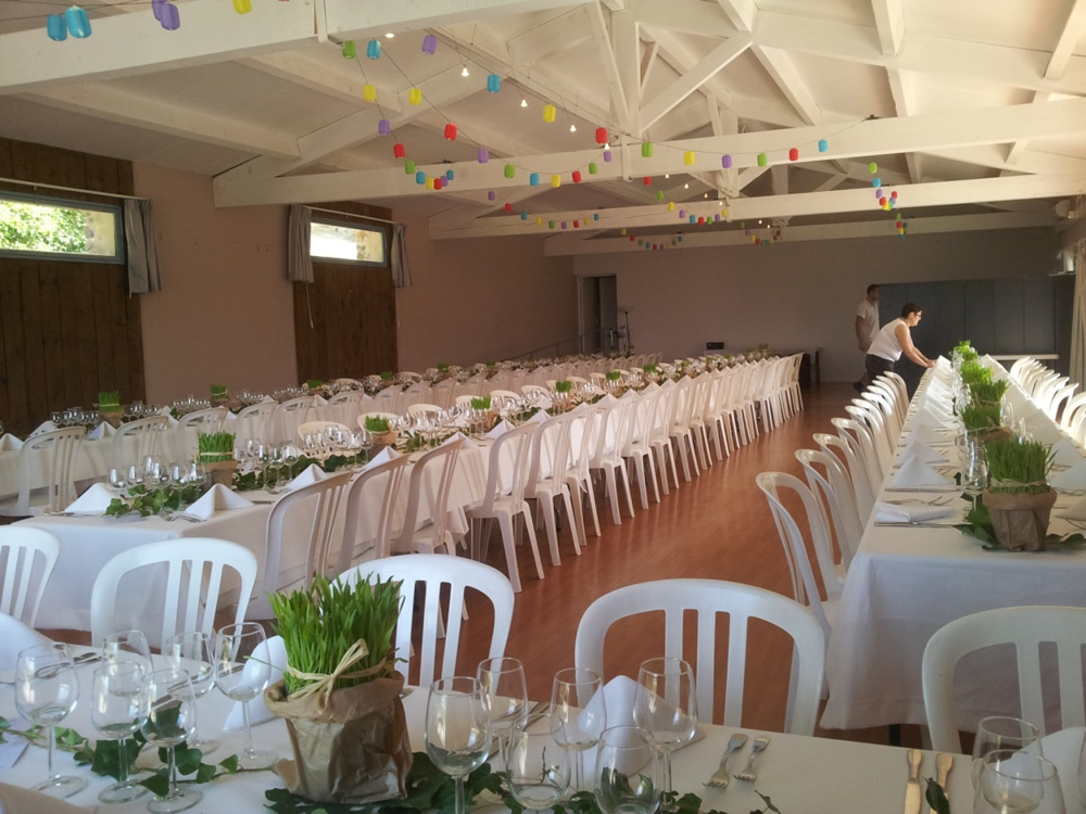Room rental for Wedding and reception at the Hameau de l\'Étoile
